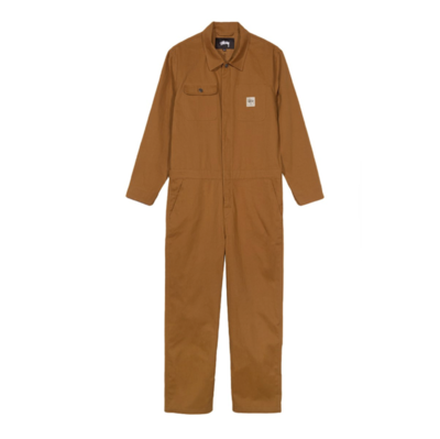 Herringbone Coverall Brown