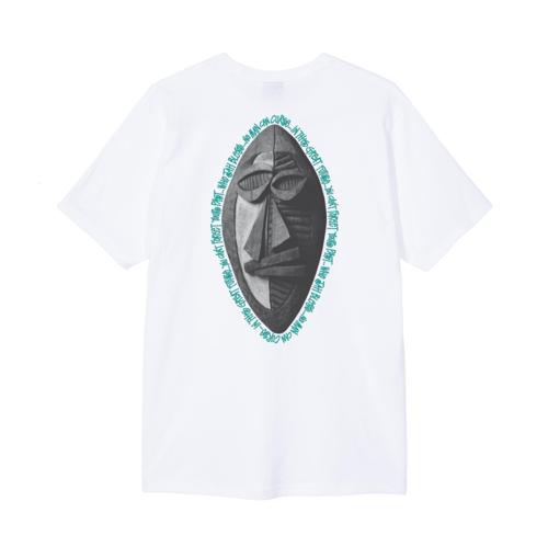 Tribal Mask Tee White
