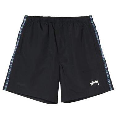 TAPING NYLON SHORT black