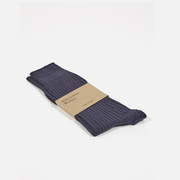 Base Sock Navy Merino