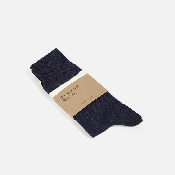 Light Hoop Sock Navy