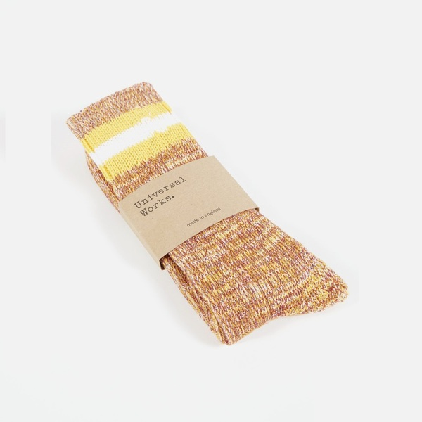 Everyday Stripe Sock Yellow