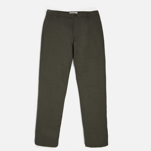 Aston Pant Olive Summer Suiting