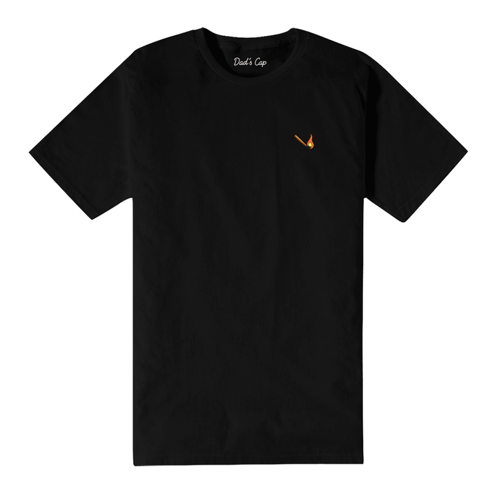 Match Stick Tee Black
