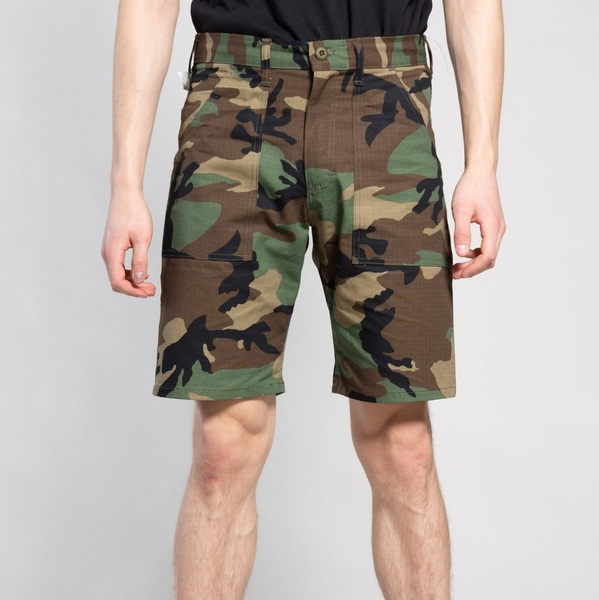 FATIGUE SHORT WOODLAND CAMO